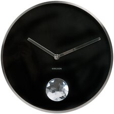 Swinging Diamond Wall Clock