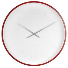 Mr. White Arabic Numeral Wall Clock