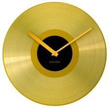 Mega Disc Record Wall Clock