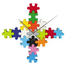 DIY Puzzle Wall Clock