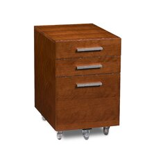 Sequel Three Drawer Low Mobile File Pedestal