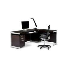 Sequel Executive 3-Piece Desk