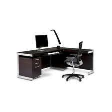 <strong>BDI</strong> Sequel U-Shape Desk Office Suite