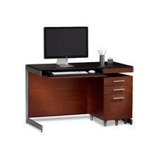 "<strong>BDI</strong> 29"" Sequel Compact Computer Desk with File Cabinet"