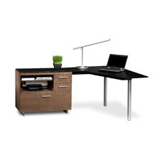 "Sequel 29.25"" H x 55"" W Desk Peninsula"