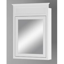 "Cottage 23"" x 32"" Recessed Beveled Edge Medicine Cabinet"