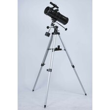 200x Reflector Telescope in Black