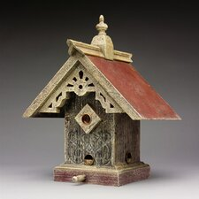 Victorian Sunburst Hopper Bird Feeder