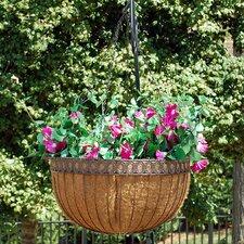 "Victorian 16"" Hanging Basket"
