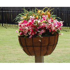 "20"" Newport Planter for 2"" x 2"" Deck Post"