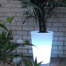 Bon Décor Straight Cone Illuminated Pot Planter