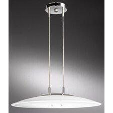 Prisma Stretta 1 Light Bowl Pendant