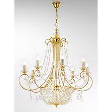 Amadeus 11 Light Chandelier in Gold 24K