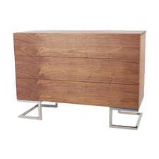 <strong>Pangea Home</strong> Hunter 3 Drawer Dresser
