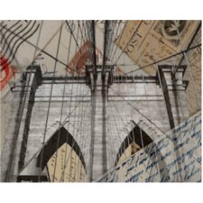 Letters to New York Graphic Art on Canvas