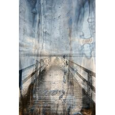 Landscape Boardwalk Framed Graphic Art