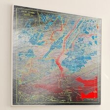 <strong>JORDAN CARLYLE</strong> Geography Mapped Out #3 Wall Art