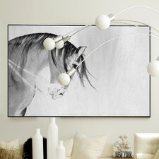 Figurative Knight Fall Framed Graphic Art