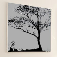 <strong>JORDAN CARLYLE</strong> Nature Midnight Ginkgo Wall Art