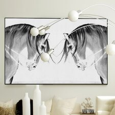 Figurative Knight Fall #2 Framed Graphic Art