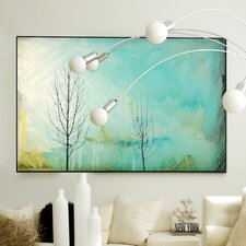 Nature Color Washed Framed Graphic Art