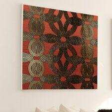 Woven Gold Ring #4 Wall Art