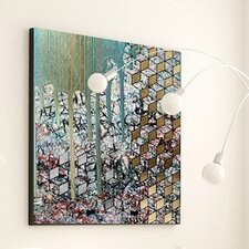 Abstract Pierre Cubed Framed Painting Print