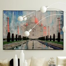 Architecture Mythical Grounds Framed Painting Print