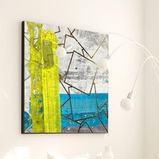 Abstract Shattered #2 Framed Painting Print