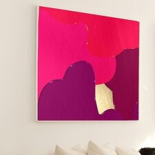 Abstract Berry Blend Wall Art