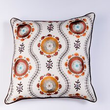 <strong>Filling Spaces</strong> Ikat and Suzani All Klamkari Pillow
