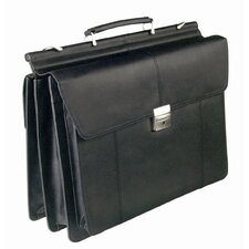 "Professional 15"" Laptop Briefcase in Black"