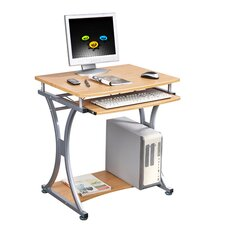 Laptop Computer Desk in Oak