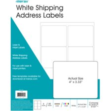 Shipping Labels (Set of 50)