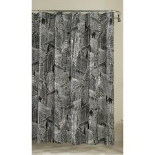 NYC Cotton Shower Curtain