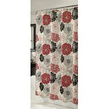 <strong>m.style</strong> Full Bloom Microfiber Shower Curtain