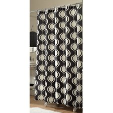 Ogee Microfiber Shower Curtain