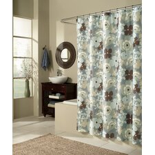 <strong>m.style</strong> Pop Art Garden Microfiber Shower Curtain