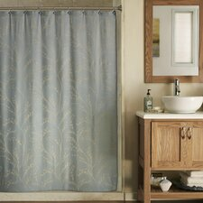 Blossom Polyester and Rayon Shower Curtain