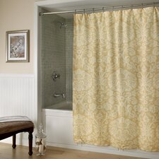 Damask Polyester Shower Curtain