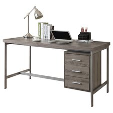 Enchanted Writing Desk with Side Cabinet