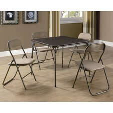 <strong>Monarch Specialties Inc.</strong> 5 Piece Card Table Set