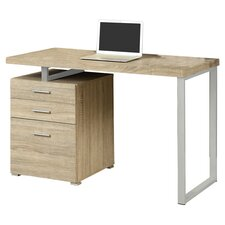 Computer Writing Desk with Space Storage Drawer