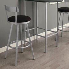 "29"" Swivel Bar Stool with Cushion (Set of 2)"