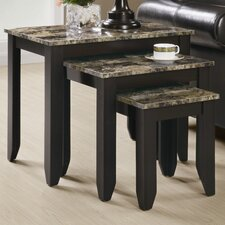 <strong>Monarch Specialties Inc.</strong> 3 Piece Nesting Tables