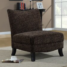 <strong>Monarch Specialties Inc.</strong> Fabric Slipper Chair