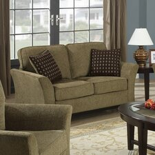 Chenille Loveseat