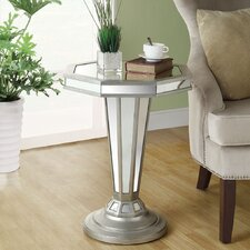 <strong>Monarch Specialties Inc.</strong> Mirrored End Table