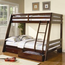 <strong>Monarch Specialties Inc.</strong> Bunk Bed with Storage