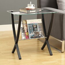 <strong>Monarch Specialties Inc.</strong> Magazine End Table
